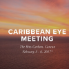 Dr. Robert Weinstock Co-Program Chair for 2017 Caribbean Eye Meeting in Cancun, Mexico