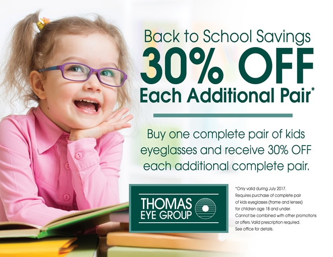 921f56a32d Back to School Savings on Glasses and Contacts
