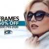 Designer Frames 50% Off