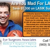 Coupon for $1,300 off LASIK
