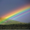 LOOK FOR THAT RAINBOW...as the brightness in the time of darkness