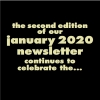 THE SECOND EDITION OF OUR JANUARY NEWSLETTER CONTINUES TO CELEBRATE THE NEW YEAR NEW YOU