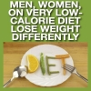 MEN, WOMEN, ON VERY LOW-CALORIE DIEST LOSE WEIGHT DIFFERENTLY