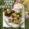 Our Recipe of the Month - PROPER PICNIC FRITTATA