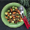 Our Recipe Of The Month - Balsamic Glazed Brussels Sprouts  and Carrots