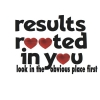 RESULTS ROOTED IN YOU - look in the obvious place first