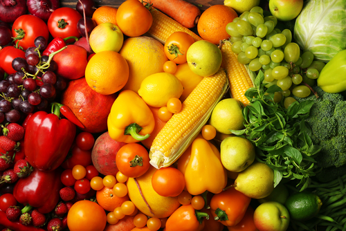 fruits and vegetables for eye health